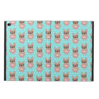 Nerdy French Bulldog Powis iPad Air 2 Case