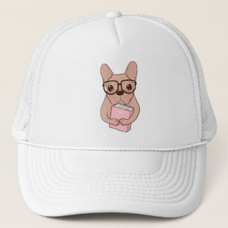 Nerdy French Bulldog Trucker Hat