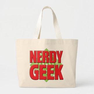 Nerdy Geek v2 Tote Bag