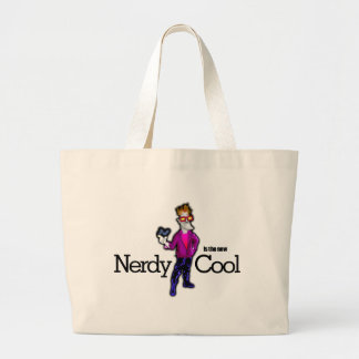 Nerdy is the new cool tote bags