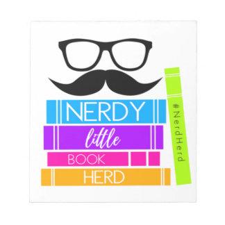 Nerdy Little Book Herd Notepad