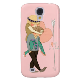 Nerdy Love Galaxy S4 Case