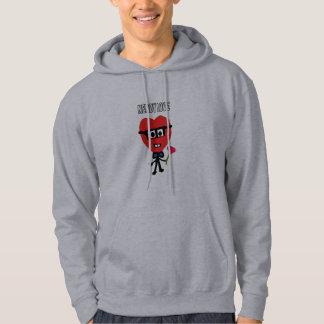 nerdy love hoodie