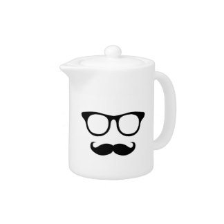 Nerdy Mustache Man