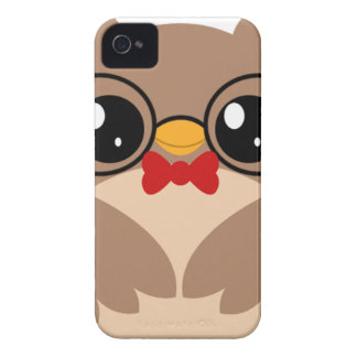 Nerdy Owl IPhone Case iPhone 4 Case-Mate Cases