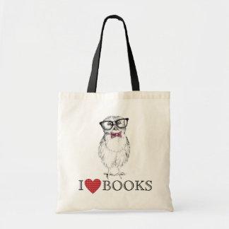 Nerdy Owlet library bird Bags