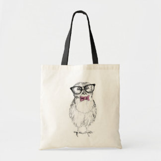 Nerdy Owlet Budget Tote Bag