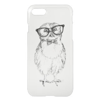 Nerdy Owlet white iPhone 7 Case