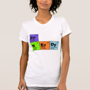 Cute periodic table gifts on zazzle au nerdy periodic table t shirt urtaz Image collections