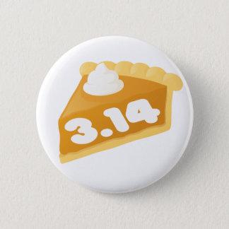 Nerdy Pi 6 Cm Round Badge