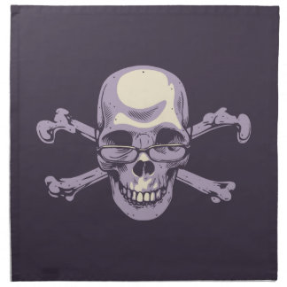 Nerdy Pirate Napkin