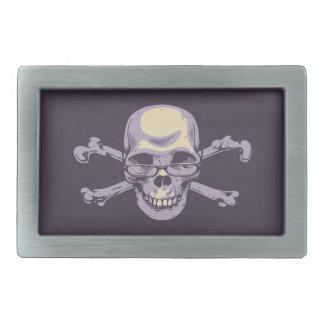 Nerdy Pirate Rectangular Belt Buckle