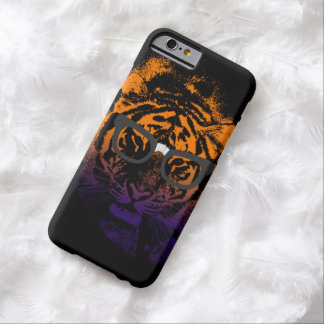 Nerdy Tiger in Glasses Dark iPhone 6 Case