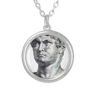 Nero Silver Plated Necklace
