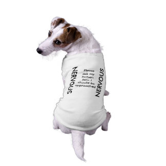 NERVOUS Dog Tank Shirt