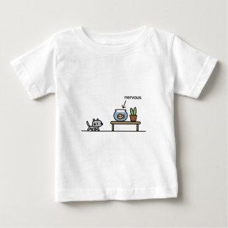 Nervous Fish Baby T-Shirt