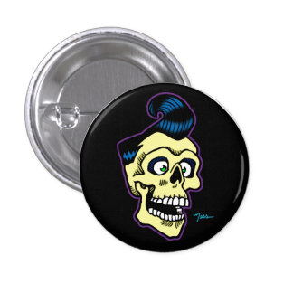 Ness Rockabilly 00 3 Cm Round Badge