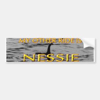 NESSIE BUMPER STICKER