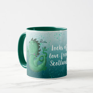 Nessie, Lochs Of Love From Scotland Mug