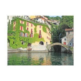 Nesso, Lake Como canvas print
