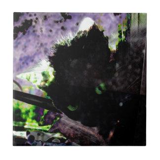 Nest • Egg • Kitty Ceramic Tile