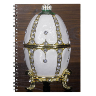 Nest of Pearls eggs Spiral Note Book