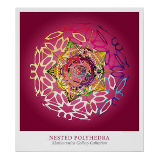 Nested Polyhedra Poster