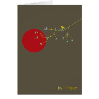 Nesting Bird + Family | *03 | Blank Note Card
