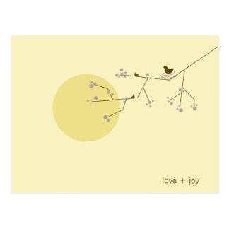 Nesting Bird + Family   *04   Postcard
