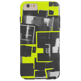 Nesting Boxes in Minion Yellow Tough iPhone 6 Plus Case