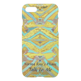 Nesting Exciting Abstract with Your Text iPhone 8/7 Case