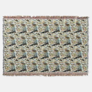 Nesting Momma Throw Blanket