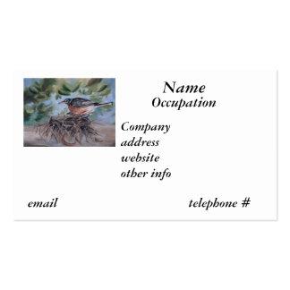 Nesting Robin, Business Card
