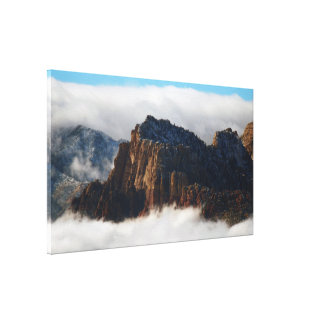 """Nestled in the Clouds Print on Canvas 33"""" x 19"""" x Gallery Wrap Canvas"""