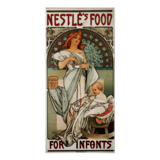 Nestles Food For Infants Posters