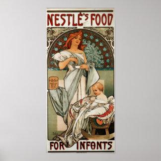 Nestles Food For Infants Poster