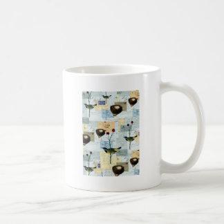 Nests and small birds coffee mug