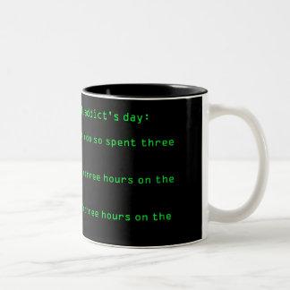 Net Addict Mug