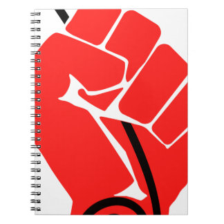 Net Neutrality Fist Notebooks