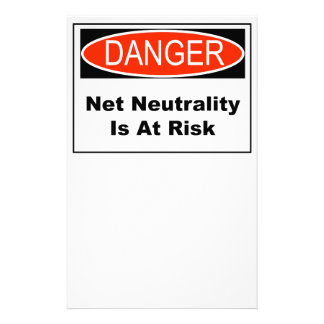Net Neutrality Is At Risk Stationery