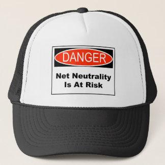 Net Neutrality Is At Risk Trucker Hat