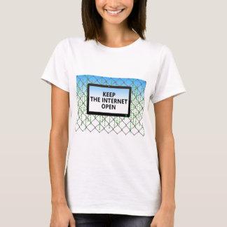Net Neutrality   Keep the Internet Open T-Shirt