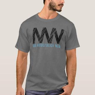 Net Neutrality Now - Black Netting T-Shirt