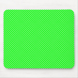 Net Pattern Green with White Mouse Mat