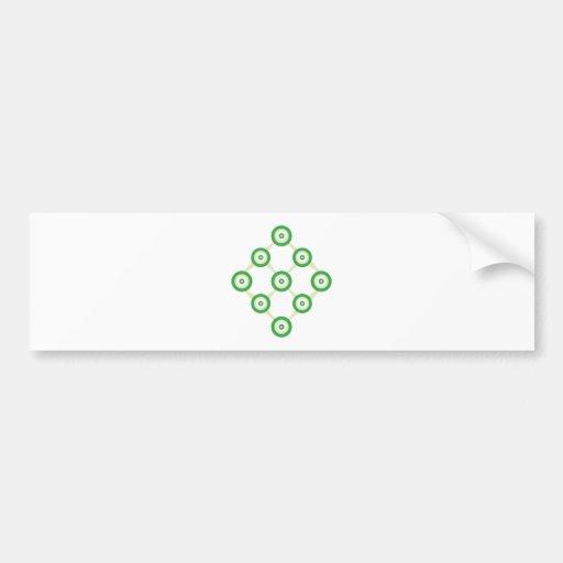 Net ring bumper stickers