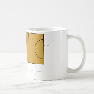 Netball Court Mug