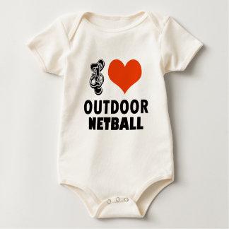 Netball design baby bodysuit