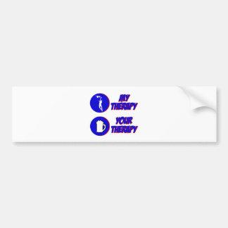 netball design bumper sticker