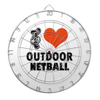 Netball design dartboard