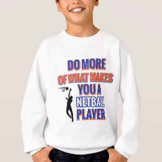 NETBALL DESIGN SWEATSHIRT
